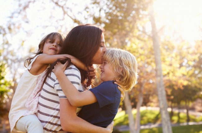 5 Ways Being a Mom Boosts Your Well-Being
