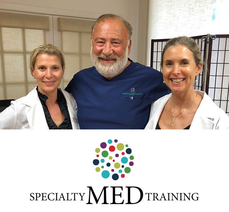 Dr. Banno of Specialty MED training