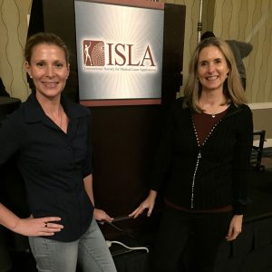 Dr. Steelsmith and Dr. Coles at ISLA