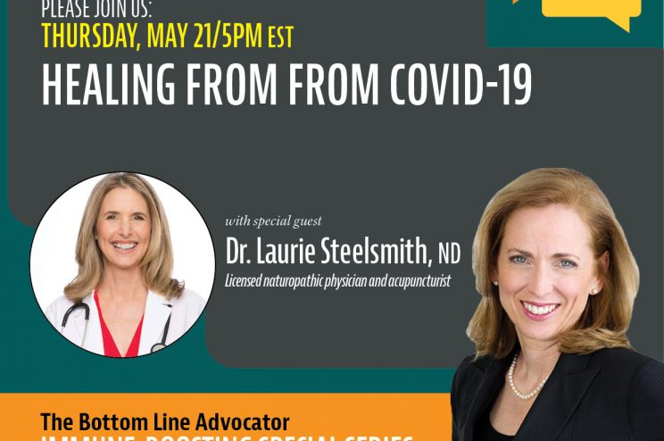 Bottomline Facebook Live Event - Healing From COVID-19